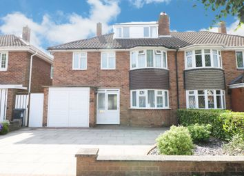 Thumbnail 5 bed semi-detached house for sale in Portia Avenue, Shirley, Solihull