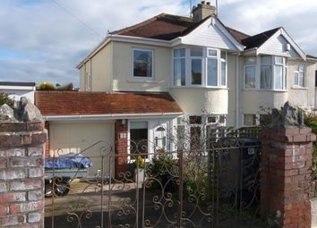 Thumbnail 3 bed semi-detached house for sale in Preston, Paignton, Devon