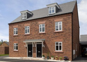 "Thumbnail 3 bed semi-detached house for sale in ""Nugent"" at Fen Street, Brooklands, Milton Keynes"
