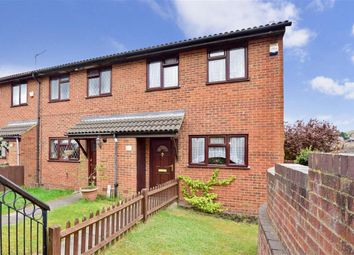 Thumbnail 3 bed end terrace house for sale in Resolution Close, Walderslade, Chatham, Kent