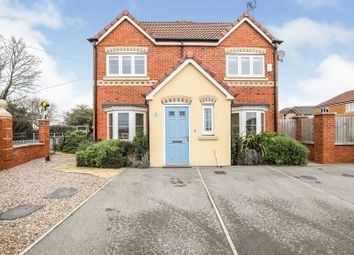 Thumbnail 3 bed semi-detached house for sale in Coppice Way, Harworth, Doncaster
