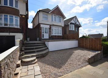 Thumbnail 3 bedroom detached house for sale in Avebury Avenue, Leicester