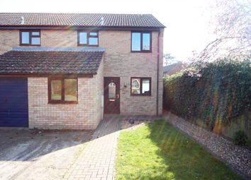 Thumbnail 3 bedroom terraced house to rent in Icknield Close, Cheveley