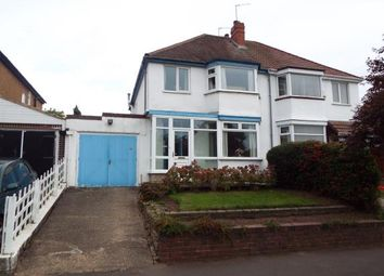 Thumbnail 3 bedroom semi-detached house for sale in Eccleshall Avenue, Wolverhampton, West Midlands