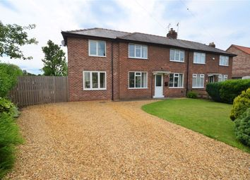 Thumbnail 3 bed semi-detached house to rent in Thorpe Lane, Cawood, Selby