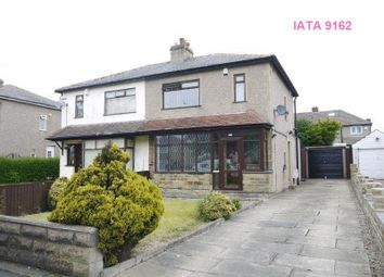 Thumbnail 3 bed semi-detached house to rent in Wrose Road, Bradford