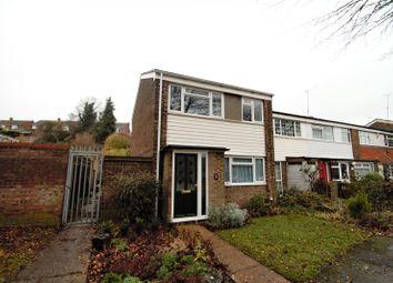 Thumbnail 3 bed end terrace house for sale in Silverspot Close, Rainham, Kent