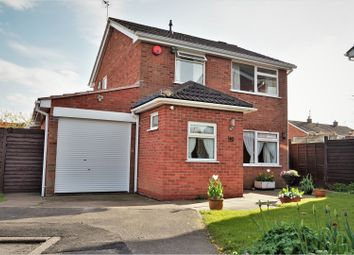 Thumbnail 3 bedroom detached house for sale in Ferndale Drive, Ratby