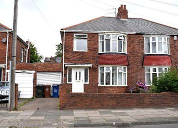 Thumbnail 3 bed semi-detached house to rent in Benton Road, Newcastle