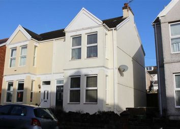 Thumbnail 3 bedroom semi-detached house for sale in Queens Road, Mumbles, Swansea