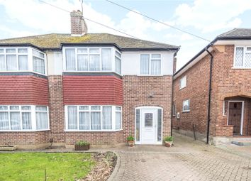 Thumbnail 3 Bed Semi Detached House For Sale In Greystoke Avenue Pinner Middle