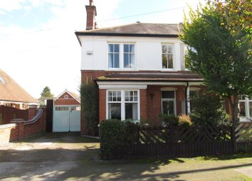 Thumbnail 4 bed semi-detached house for sale in The Avenue, Blaby, Leicester