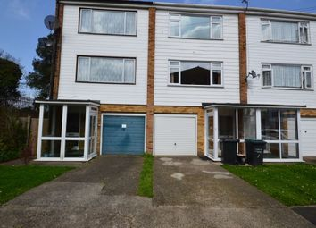Thumbnail 4 bed terraced house to rent in Chestnut Close, Northfleet, Gravesend