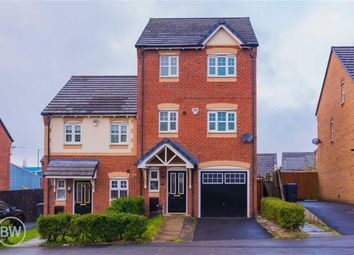 Thumbnail 4 bedroom town house for sale in Cross Street, Atherton, Manchester