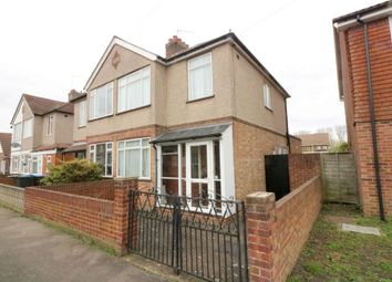 Thumbnail 3 bed semi-detached house for sale in Hythe Park Road, Egham