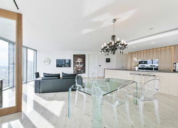 Thumbnail 2 bed flat for sale in St George Wharf, London