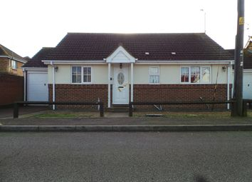 Thumbnail 2 bed detached bungalow to rent in Essex Close, Canvey Island