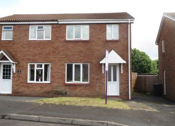 Thumbnail 2 bed semi-detached house to rent in Pebworth Grove, Dudley