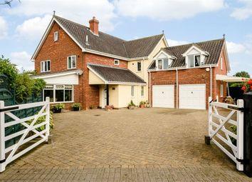 Thumbnail 5 bedroom detached house for sale in Mill Street, Gislingham, Eye, Suffolk