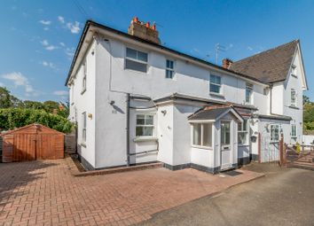 Thumbnail 2 bed semi-detached house to rent in Stroude Road, Virginia Water