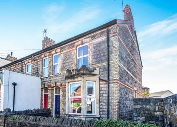 Thumbnail 3 bed end terrace house for sale in Cornerswell Road, Penarth