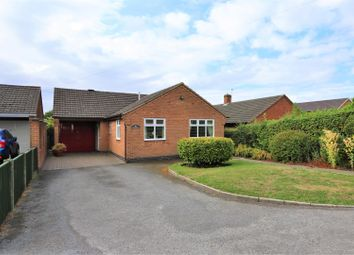 Thumbnail 3 bed detached bungalow for sale in Woodcote, Ashby-De-La-Zouch