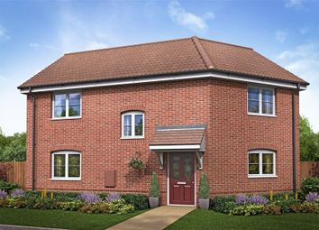 Thumbnail 3 bed property for sale in Goldfinch Drive, Attleborough