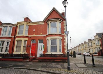 Thumbnail 3 bed terraced house to rent in Connaught Road, Kensingston, Liverpool