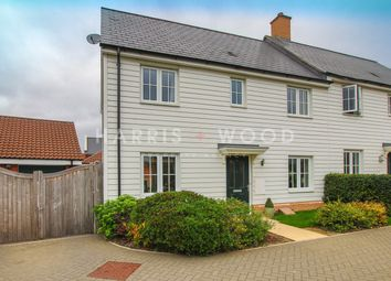 Thumbnail 3 bed semi-detached house for sale in Builder Gardens, Colchester