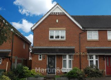 Thumbnail 2 bed end terrace house for sale in Barrington Road, North Cheam, Sutton