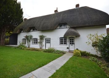 Thumbnail 4 bed detached house to rent in Village Street, Thruxton, Andover