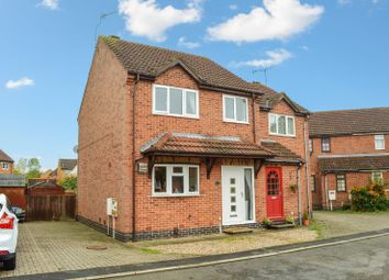Thumbnail 3 bed semi-detached house for sale in Barge Close, South Wigston, Leicester