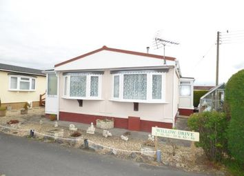 Thumbnail 2 bed mobile/park home for sale in Oaktree Park, Locking, Weston-Super-Mare