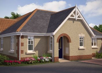 Thumbnail 2 bed detached bungalow for sale in Farriers Road, Stowmarket