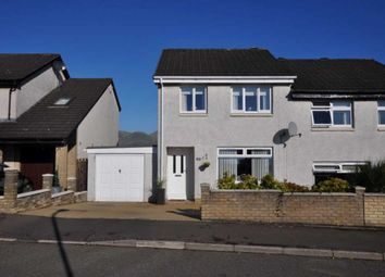 Thumbnail 3 bed semi-detached house for sale in 106 Nevis Crescent, Alloa, 2Bn, UK