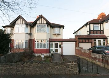 Thumbnail 3 bedroom semi-detached house for sale in Ainslie Wood Road, London