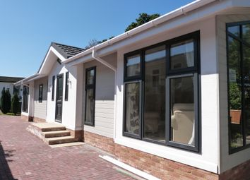 Thumbnail 2 bed mobile/park home for sale in Woodbine Park, Waltham Abbey
