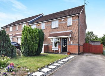 Thumbnail 2 bed end terrace house for sale in Sanders Close, Shipley View, Ilkeston
