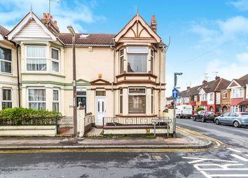 Thumbnail 3 bed terraced house for sale in Linden Road, Gillingham, Kent