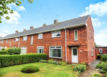 Thumbnail 2 bed end terrace house for sale in Ashby Avenue, Lincoln