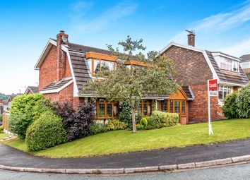 Thumbnail 4 bed detached house for sale in Claygate Road, Cannock