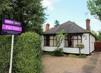 Thumbnail 2 bed detached bungalow for sale in Grove Road, Blaby