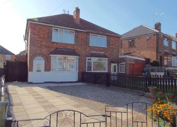 Thumbnail 3 bed semi-detached house for sale in Mavis Avenue, Leicester, Leicestershire