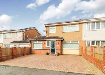 Thumbnail 3 bed semi-detached house for sale in Park Avenue, Mynydd Isa