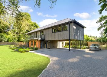 Thumbnail 4 bed detached house for sale in Ferry Lane, Medmenham, Marlow, Buckinghamshire