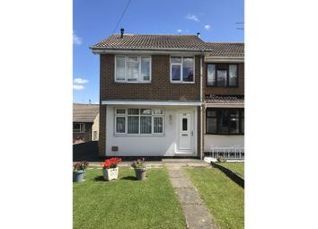 Thumbnail 3 bed end terrace house to rent in North Wingfield Road, Chesterfield