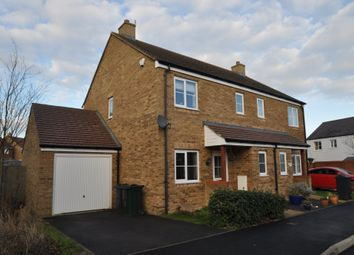 Thumbnail 3 bed semi-detached house to rent in Jacobs Court, Kingsnorth, Ashford