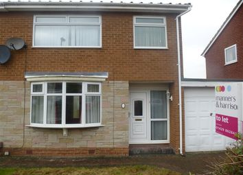 Thumbnail 3 bedroom semi-detached house to rent in Harvester Court, Marton-In-Cleveland, Middlesbrough