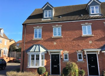 Thumbnail 4 bed town house for sale in Kipling Drive, Melton Mowbray