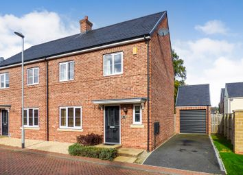 Thumbnail 3 bed semi-detached house for sale in St. Oswalds Close, Methley